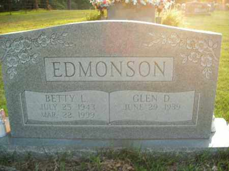 EDMONSON, BETTY L. - Boone County, Arkansas | BETTY L. EDMONSON - Arkansas Gravestone Photos