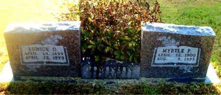 EDMONSON, EUNICE  O. - Boone County, Arkansas | EUNICE  O. EDMONSON - Arkansas Gravestone Photos