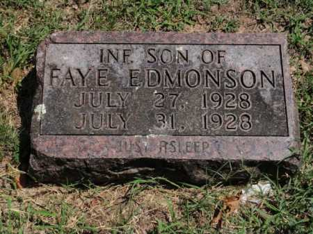 EDMONSON, INFANT SON - Boone County, Arkansas | INFANT SON EDMONSON - Arkansas Gravestone Photos