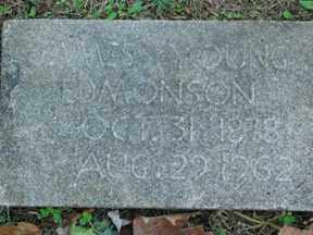 EDMONSON, JAMES YOUNG - Boone County, Arkansas | JAMES YOUNG EDMONSON - Arkansas Gravestone Photos