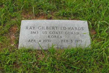 EDWARDS  (VETERAN KOR), RAY GILBERT - Boone County, Arkansas | RAY GILBERT EDWARDS  (VETERAN KOR) - Arkansas Gravestone Photos