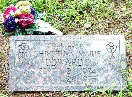 EDWARDS, CHRISTINA  MARIE - Boone County, Arkansas | CHRISTINA  MARIE EDWARDS - Arkansas Gravestone Photos