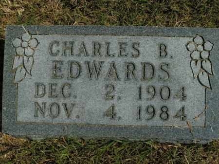 EDWARDS, CHARLES B. - Boone County, Arkansas | CHARLES B. EDWARDS - Arkansas Gravestone Photos