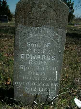 EDWARDS, EDWIN N. - Boone County, Arkansas | EDWIN N. EDWARDS - Arkansas Gravestone Photos