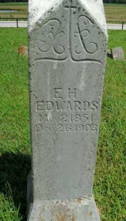 EDWARDS, E.H. - Boone County, Arkansas | E.H. EDWARDS - Arkansas Gravestone Photos