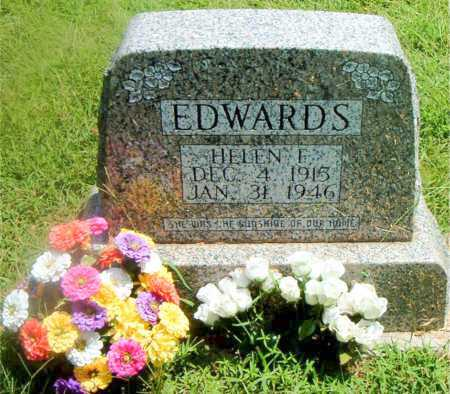EDWARDS, HELEN  F. - Boone County, Arkansas | HELEN  F. EDWARDS - Arkansas Gravestone Photos