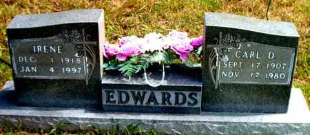 EDWARDS, IRENE - Boone County, Arkansas | IRENE EDWARDS - Arkansas Gravestone Photos