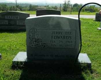 EDWARDS, JERRY LEE - Boone County, Arkansas | JERRY LEE EDWARDS - Arkansas Gravestone Photos