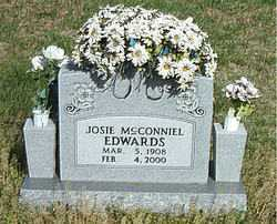 EDWARDS, JOSIE - Boone County, Arkansas | JOSIE EDWARDS - Arkansas Gravestone Photos