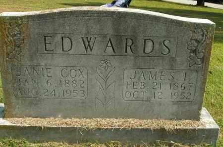 EDWARDS, JANIE - Boone County, Arkansas | JANIE EDWARDS - Arkansas Gravestone Photos