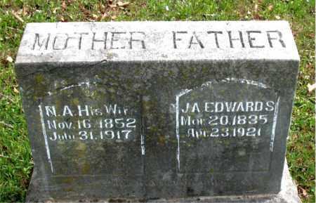 EDWARDS, J.  A. - Boone County, Arkansas   J.  A. EDWARDS - Arkansas Gravestone Photos