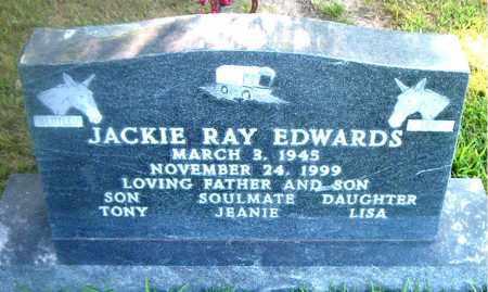 EDWARDS, JACKIE RAY - Boone County, Arkansas | JACKIE RAY EDWARDS - Arkansas Gravestone Photos