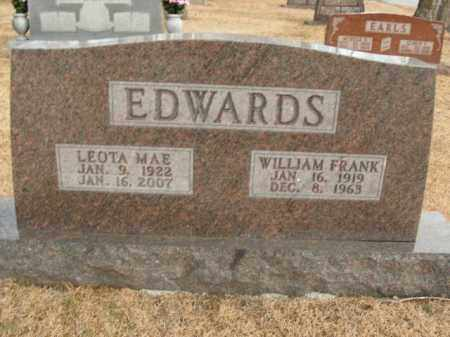 EDWARDS, LEOTA MAE - Boone County, Arkansas | LEOTA MAE EDWARDS - Arkansas Gravestone Photos