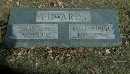 SIMS EDWARDS, MARY - Boone County, Arkansas | MARY SIMS EDWARDS - Arkansas Gravestone Photos