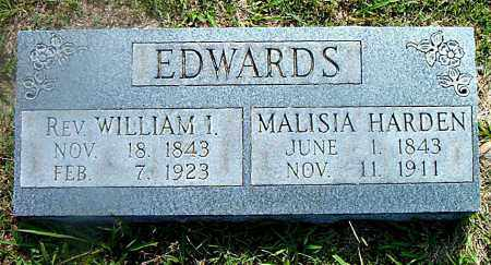 EDWARDS, WILLIAM I. (REV) - Boone County, Arkansas | WILLIAM I. (REV) EDWARDS - Arkansas Gravestone Photos