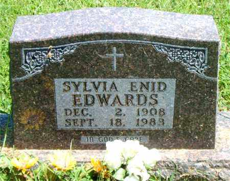 EDWARDS, SYLVIA ENID - Boone County, Arkansas | SYLVIA ENID EDWARDS - Arkansas Gravestone Photos