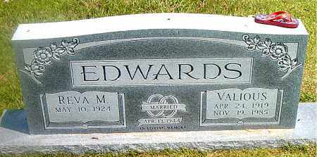 EDWARDS, VALIOUS L. - Boone County, Arkansas | VALIOUS L. EDWARDS - Arkansas Gravestone Photos