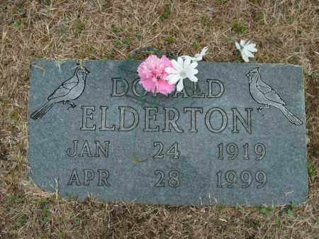 ELDERTON, DONALD - Boone County, Arkansas | DONALD ELDERTON - Arkansas Gravestone Photos