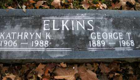 ELKINS, GEORGE T. - Boone County, Arkansas | GEORGE T. ELKINS - Arkansas Gravestone Photos