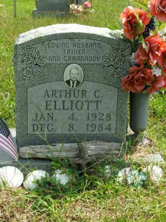 ELLIOTT, ARTHUR C. - Boone County, Arkansas | ARTHUR C. ELLIOTT - Arkansas Gravestone Photos