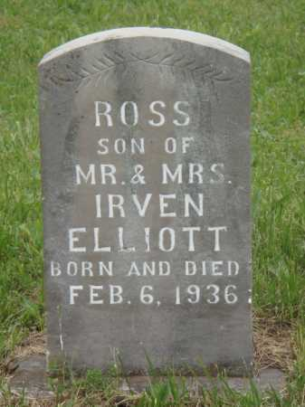 ELLIOTT, ROSS - Boone County, Arkansas | ROSS ELLIOTT - Arkansas Gravestone Photos