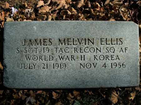 ELLIS  (VETERAN 2 WARS), JAMES MELVIN - Boone County, Arkansas | JAMES MELVIN ELLIS  (VETERAN 2 WARS) - Arkansas Gravestone Photos