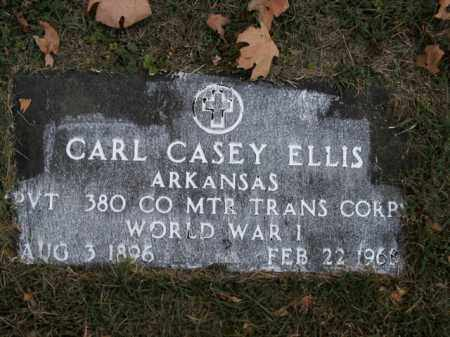 ELLIS  (VETERAN WWI), CARL CASEY - Boone County, Arkansas | CARL CASEY ELLIS  (VETERAN WWI) - Arkansas Gravestone Photos