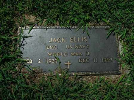 ELLIS  (VETERAN WWII), JACK - Boone County, Arkansas | JACK ELLIS  (VETERAN WWII) - Arkansas Gravestone Photos