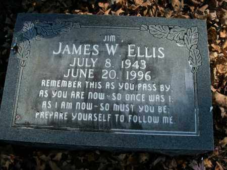 ELLIS, JAMES W. - Boone County, Arkansas | JAMES W. ELLIS - Arkansas Gravestone Photos