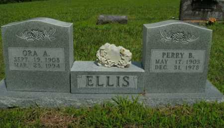 SCOTT ELLIS, ORA A. - Boone County, Arkansas | ORA A. SCOTT ELLIS - Arkansas Gravestone Photos