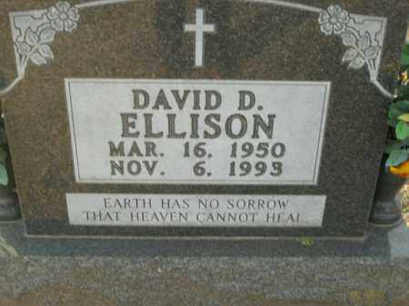 ELLISON, DAVID D. - Boone County, Arkansas | DAVID D. ELLISON - Arkansas Gravestone Photos