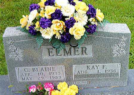 ELMER, C. BLAINE - Boone County, Arkansas | C. BLAINE ELMER - Arkansas Gravestone Photos