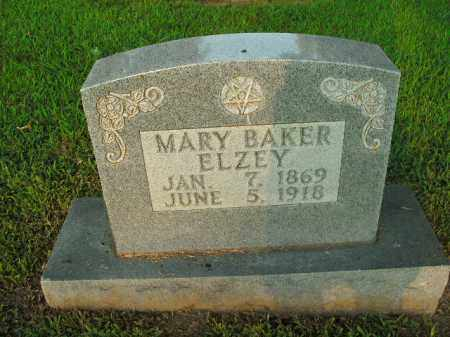 BAKER ELZEY, MARY - Boone County, Arkansas | MARY BAKER ELZEY - Arkansas Gravestone Photos