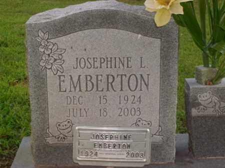 EMBERTON BRUCKS, JOSEPHINE L. - Boone County, Arkansas | JOSEPHINE L. EMBERTON BRUCKS - Arkansas Gravestone Photos