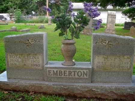 EMBERTON, ROSA LEONA - Boone County, Arkansas | ROSA LEONA EMBERTON - Arkansas Gravestone Photos