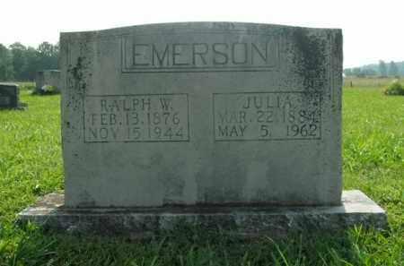 EMERSON, JULIA - Boone County, Arkansas | JULIA EMERSON - Arkansas Gravestone Photos