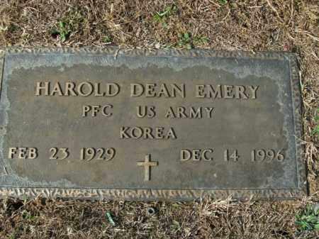EMERY  (VETERAN KOR), HAROLD DEAN - Boone County, Arkansas | HAROLD DEAN EMERY  (VETERAN KOR) - Arkansas Gravestone Photos