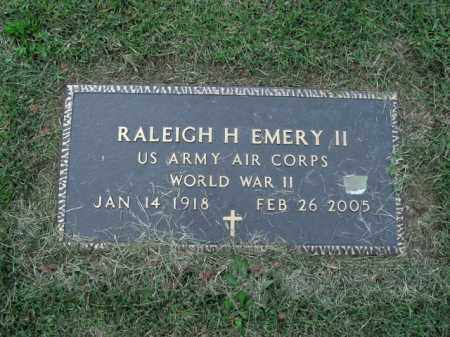 EMERY II  (VETERAN WWII), RALEIGH H - Boone County, Arkansas | RALEIGH H EMERY II  (VETERAN WWII) - Arkansas Gravestone Photos