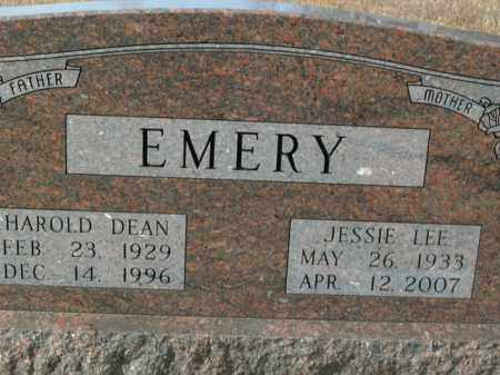 EMERY, JESSIE LEE - Boone County, Arkansas | JESSIE LEE EMERY - Arkansas Gravestone Photos