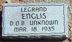 ENGLIS, LEGRAND - Boone County, Arkansas | LEGRAND ENGLIS - Arkansas Gravestone Photos