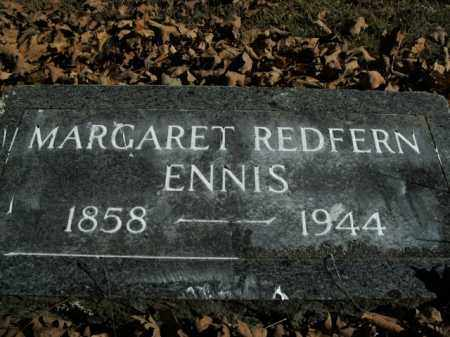 REDFERN ENNIS, MARGARET - Boone County, Arkansas | MARGARET REDFERN ENNIS - Arkansas Gravestone Photos
