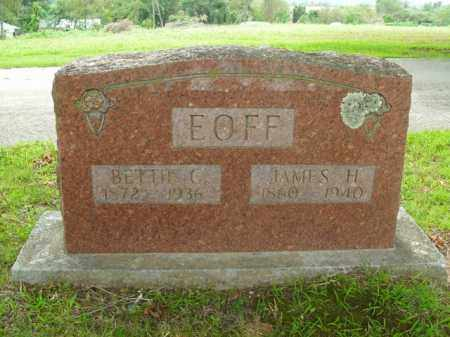 EOFF, JAMES HARVE - Boone County, Arkansas | JAMES HARVE EOFF - Arkansas Gravestone Photos