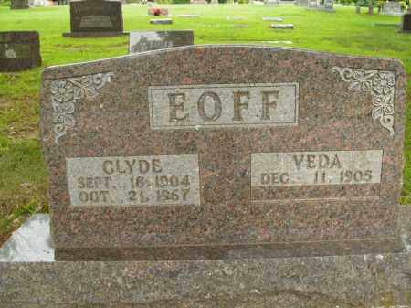 EOFF, CLYDE - Boone County, Arkansas | CLYDE EOFF - Arkansas Gravestone Photos