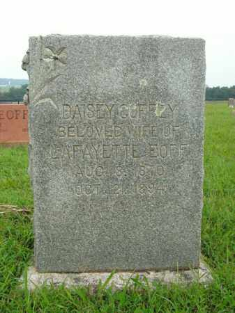 EOFF, DAISEY - Boone County, Arkansas | DAISEY EOFF - Arkansas Gravestone Photos