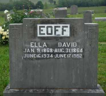 EOFF, DAVID - Boone County, Arkansas | DAVID EOFF - Arkansas Gravestone Photos