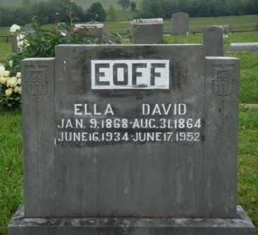 EOFF, ELLA - Boone County, Arkansas | ELLA EOFF - Arkansas Gravestone Photos