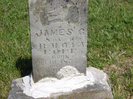 EOFF, JAMES G. - Boone County, Arkansas | JAMES G. EOFF - Arkansas Gravestone Photos
