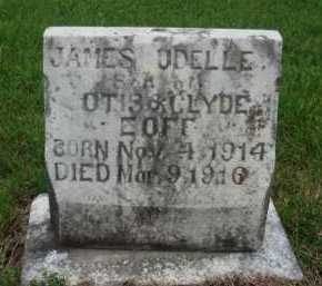EOFF, JAMES ODELLE - Boone County, Arkansas | JAMES ODELLE EOFF - Arkansas Gravestone Photos