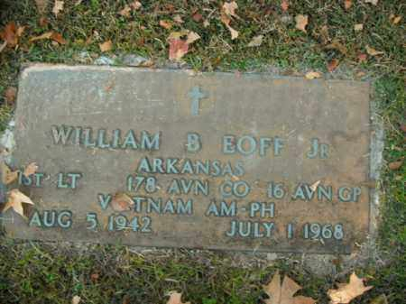 EOFF, JR  (VETERAN VIET), WILLIAM BRADFORD - Boone County, Arkansas | WILLIAM BRADFORD EOFF, JR  (VETERAN VIET) - Arkansas Gravestone Photos