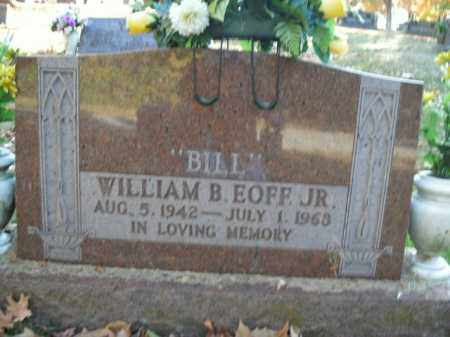 EOFF, JR, WILLIAM BRADFORD - Boone County, Arkansas | WILLIAM BRADFORD EOFF, JR - Arkansas Gravestone Photos